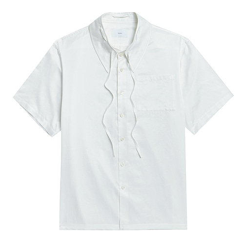 DETACHABLE COLLAR 1/2 SHIRTS WHITE