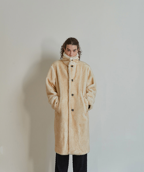 [ORDER MADE] FAUX FUR COAT