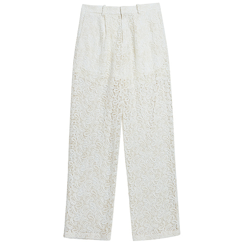 [ORDER MADE] LACE WIDE PANTS