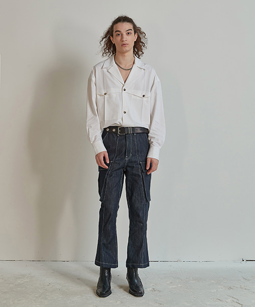 [ORDER MADE] BOOT CUT SELVAGE DENIM PANTS