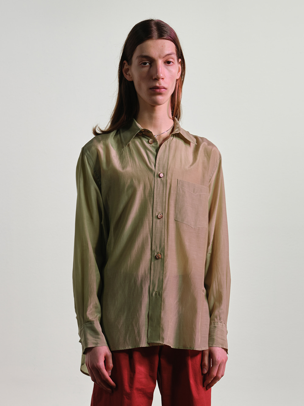 SATIN CUPRA SHIRT