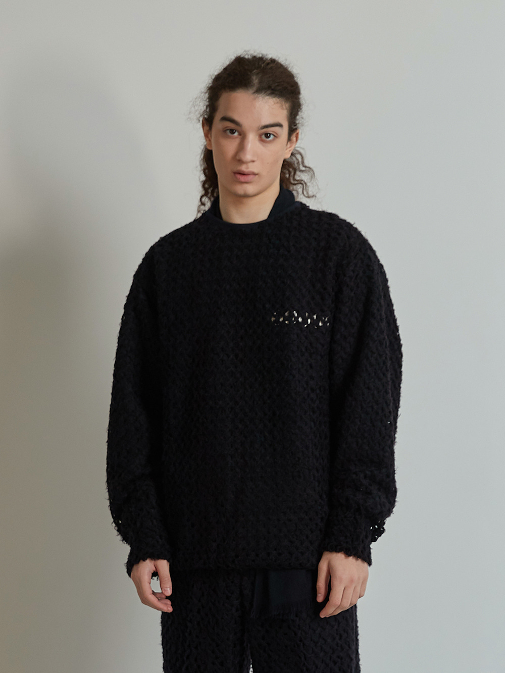 NET SWEATSHIRT (BLACK)